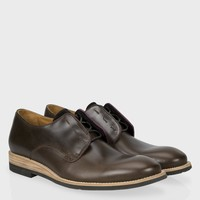 Paul Smith Men's Shoes | Brown Leather Law Shoes
