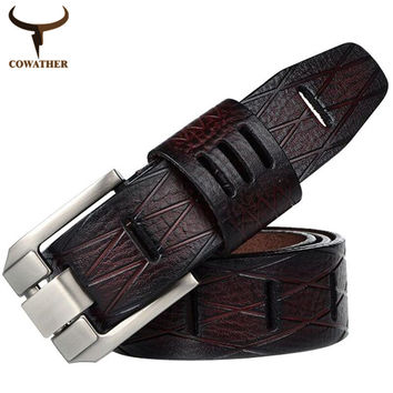 Vintage Leather Belt For Men