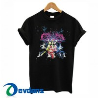 Mighty Morphin Power Rangers T Shirt Women And Men Size S To 3XL