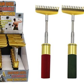 Shotgun Shell Extendable Back Scratcher Case Pack 18