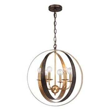 lanson chandelier hanging lamps from z gallerie home