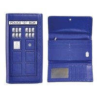 Doctor Who TARDIS Ladies Wallet - Underground Toys - Doctor Who - Wallets at Entertainment Earth