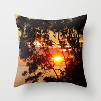 beautiful ending  Throw Pillow by Marianna Tankelevich