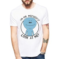 Rick And Morty Mr. Meeseeks Funny Anime T-Shirt