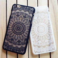 Lace Floral Case for iPhone 7 7Plus & iPhone 6s 6 Plus +Free Gift Box