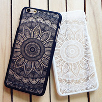 Vintage Lace Floral Case for iPhone 7 7 Plus & iPhone se 5s & iPhone 6 6s Plus Cover + Gift Box