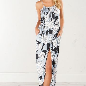 OUT FOR THE DAY FLORAL MAXI DRESS - What's New