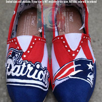 New England Patriots NFL Painted Toms