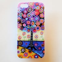 iPhone 5 Case Cover Geometric Tree Of Life iPhone 5s Hard Back Cover For iPhone 5 Slim Design Case