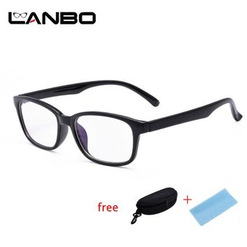 Anti PC Blue Ray Radiation Square Glasses
