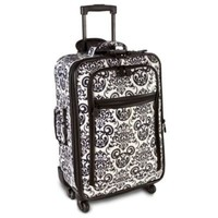 Rolling Black  White Mickey Mouse Luggage -- 22'' | Going on Vacation | Disney Store