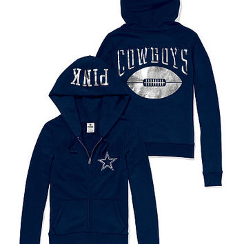 Dallas Cowboys Zip Hoodie - PINK - Victoria's Secret