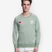 Contender Crewneck Sweatshirt in Mint