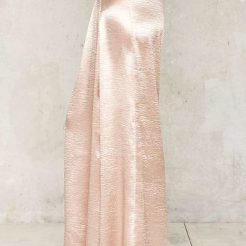 New York's in Love Satin Trousers - Pink