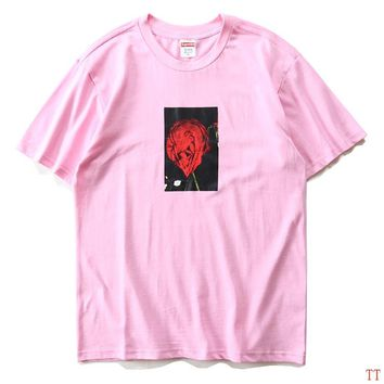 2017 New Fashion  Supreme T Shirts Short Sleeved For Women 312430
