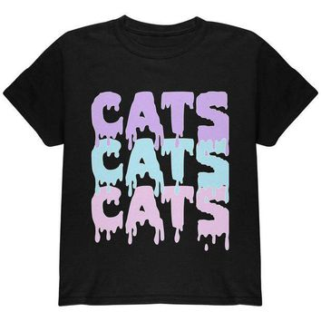 CREYCY8 Halloween Cats Cats Cats Youth T Shirt