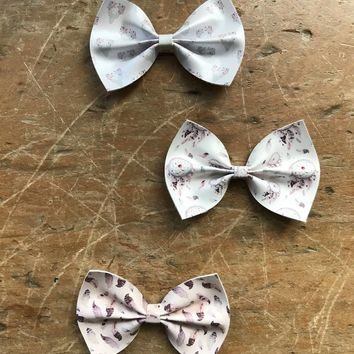 Printed Large Classic Bows