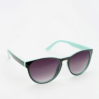 Urban Outfitters - 2tone Round Sunglasses