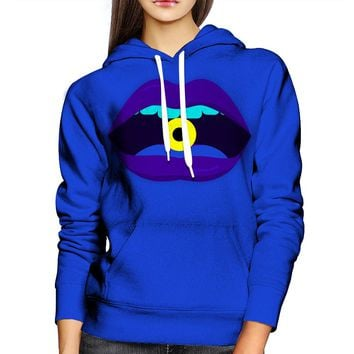 Yellow Candy Womens Hoodie