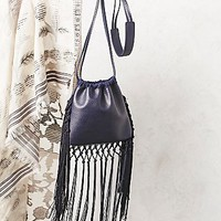 Free People Womens Fleetwood Fringe Crossbody