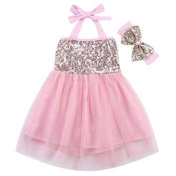 New Girls Dress Infant Baby Girl Lace Tutu Dress Formal Christening Wedding Bridesmaid Dress
