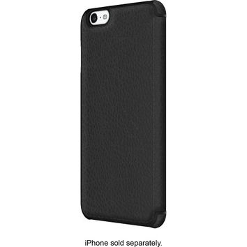 ADOPTED - Leather Folio Case for Apple® iPhone® 6 Plus - Black