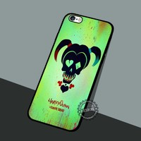 Suicide Squad Interior - iPhone 7 6 SE Cases & Covers #movie #superheroes