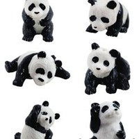 Playful Panda Figure