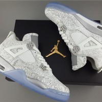 AIR JORDAN 4 (WHITE LASER 30th ANNIVERSARY)