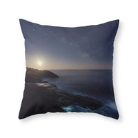 Society6 Milky Way Seas Throw Pillow