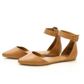 Sincerely Yours Ankle Strap Flat