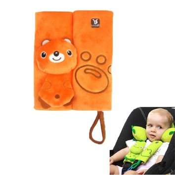 1pcs High Quality Baby Car Seat Belt Strap Cover Pad Cushion Infant Baby Stroller Accessories Cushion Pad Pushchair Pad