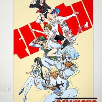 Home Decor Japanese Anime Kill la Kill Matoi Ryuko Poster Wall Scroll Sexy Cosplay 24.5x34.5 Inches -P129001001