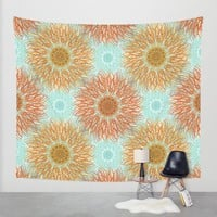 Autumn Splendor Wall Tapestry by Lisa Argyropoulos