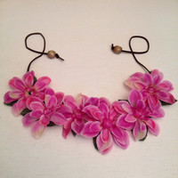 Festival Wear, Flower Crown, Concert Wear, Ultra Music Festival, Electric Zoo, Coachella, Hippie Headband, Floral Headpiece, Rave Wear