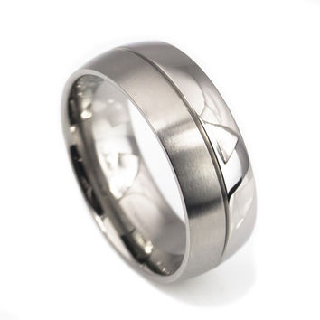 Titanium bands Comfort Fit for Man