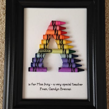 Teacher Appreciation Gift - Personalized - Framed 5 by 7