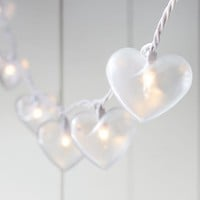 The Emily & Meritt Heart Shaped String Lights