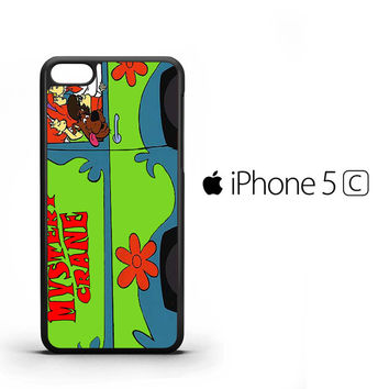 Vintage Mystery Machine Van Scooby Doo F0244 iPhone 5C Case