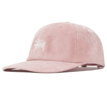 No Wale Cord Low Pro Cap in Pink