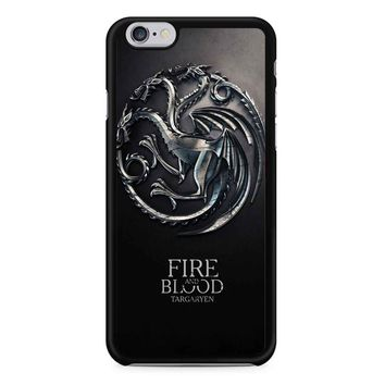 Game Of Thrones Fire And Blood Targayen iPhone 6/6S Case