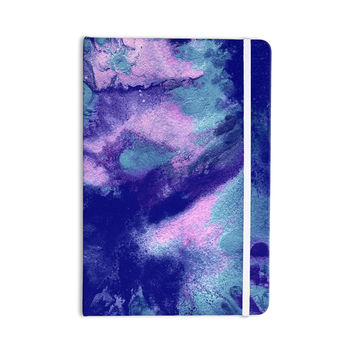 "Ashley Rice ""AC4"" Abstract Blue Everything Notebook"