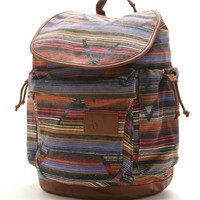 Volcom Day Dreamin Rucksack School Backpack - Womens Backpack - Multi - NOSZ
