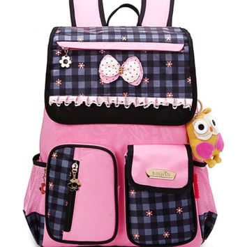 Cute Girls School Bags Children Orthopedic Primary School Backpack satchel kids book bag Princess Schoolbag Mochila Infantil
