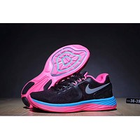 """Nike Lunareclipse 4"" Women Sport Fashion Casual Multicolor Cushioning Sneakers Running Shoes"