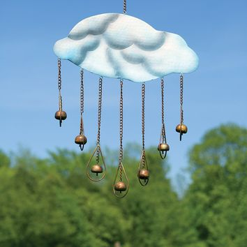 Clouds and Drops Wind Chime - New item!