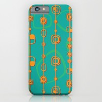 Vintage lines iPhone & iPod Case by Tony Vazquez