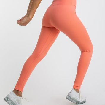 Gymshark Dreamy Leggings - Peach Coral