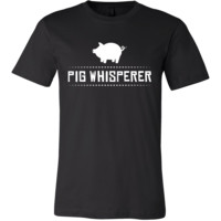 Pig Shirt - Pig Whisperer - Animal Lover Gift