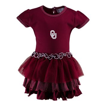 Oklahoma Pin Dot Tutu Dress